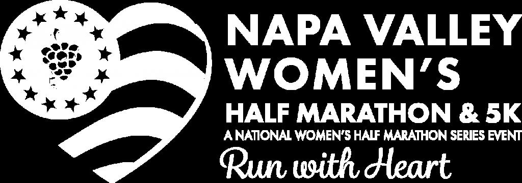 Napa Valley Women's Half Marathon Reverse Logo