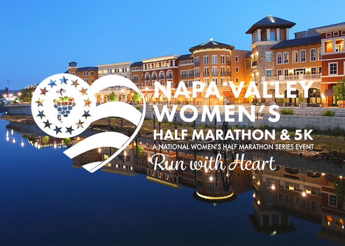 Inaugural Napa Valley Women's Half Marathon & 5K Set For Sunday, March 24, 2019!