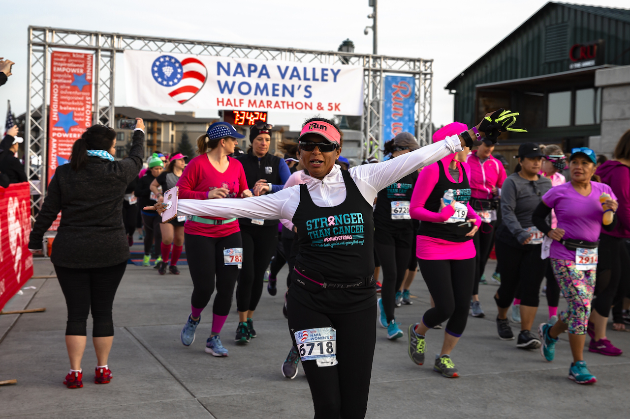 2019 Napa Valley Women's Half Marathon & 5K